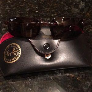 Ray Ban Polarized Sunglasses 4041 Storm